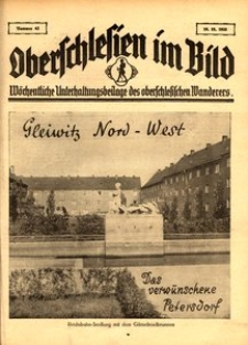 Oberschlesien im Bild, 1933, nr 42