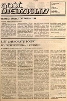 Gość Niedzielny, 1983, R. 60, nr6