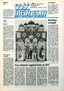 Gość Niedzielny, 1994, R. 71, nr19