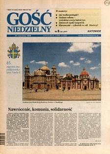 Gość Niedzielny, 1999, R. 76, nr5