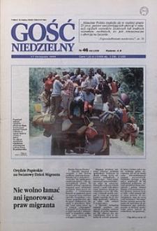 Gość Niedzielny, 1996, R. 69, nr46