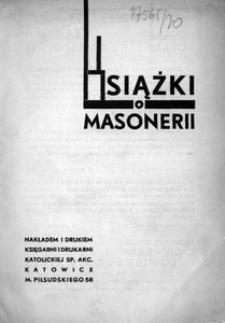 Książki o masonerii