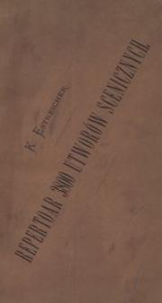 Repertoar sceny polskiej od roku 1750 do 1871. Pisarze i tłumacze sceniczni zestawieni abecadłowo