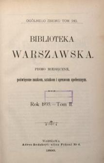Biblioteka Warszawska, 1893, T. 1
