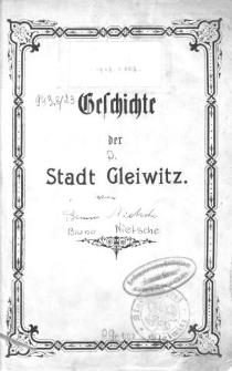 Geschichte der Stadt Gleiwitz