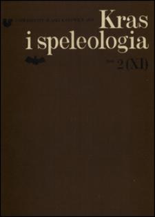 Kras i Speleologia. T. 2
