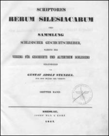 Scriptores rerum silesiacarum oder Sammlung schlesischer Geschichtschreiber. Bd. 3, Samuel Benjamin Klose's Darstellung der inneren Verhältnisse der Stadt Breslau vom Jahre 1458 bis zum Jahre 1526