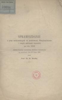 Sprawozdanie z prac archiwalnych w Archiwum Watykańskim i innych archiwach rzymskich za rok 1892 złożone Komisyi historycznej Akademii Umiejętności na posiedzeniu dnia 28 lutego 1893 przez prof. dr. St. Smolkę