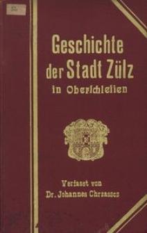 Geschichte der Stadt Zülz in Oberschlesien