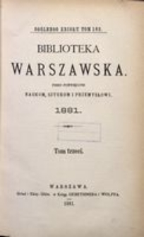 Biblioteka Warszawska, 1881, T. 3