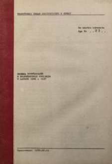 Drobna wytwórczość w województwie opolskim w latach 1986-1987