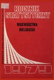 Rocznik Statystyczny Województwa Bielskiego, 1979, R. 4