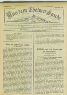 Aus dem Chelmer Lande, 1925, [Jg. 1], nr 10