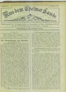 Aus dem Chelmer Lande, 1925, [Jg. 1], nr 12