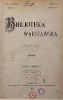 Biblioteka Warszawska, 1909, T. 2