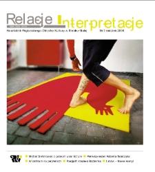 Relacje-Interpretacje, 2006, nr 3 (3)