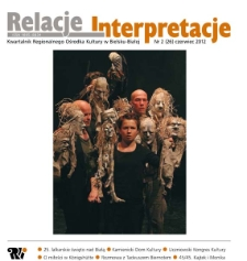 Relacje-Interpretacje, 2012, nr 2 (26)
