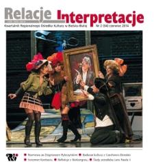 Relacje-Interpretacje, 2014, nr 2 (34)