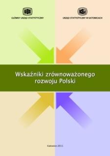 Wskaźniki zrównoważonego rozwoju Polski